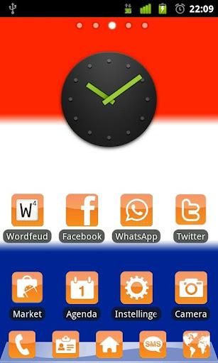 Nederland Go Launcher Ex Theme