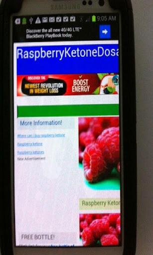 Raspberry Ketone Information