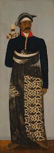 RIJKS: anoniem: Five Javanese court officials 1870