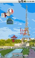 Screenshot of Paris Live Wallpaper FREE