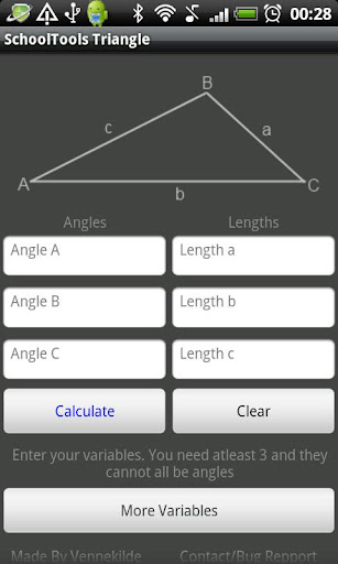 Triangle Solver Tool