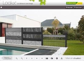 Screenshot of Clotures Lookx ®