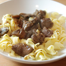 Italian-Style Venison Stew with Egg Noodles