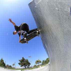 Ocean side sk8 park Cali by Eurico David - Sports & Fitness Skateboarding