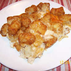 Turkey Tater Tot Hotdish