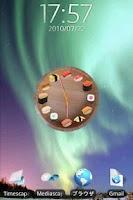 Screenshot of Sushi Clock