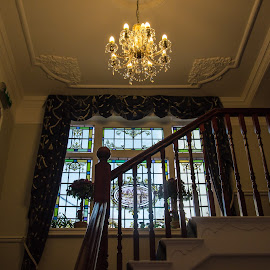 Up the Staircase of the Hotel by Adele Southall - Buildings & Architecture Office Buildings & Hotels (  )