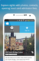 Screenshot of Prague Travel Guide & Map