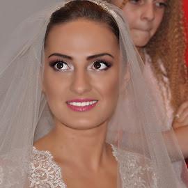 The best day! by Buzoianu Tudor - Wedding Bride ( love, happy, woman )