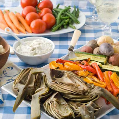 Gluten Free Provencal Summer Vegetable Feast