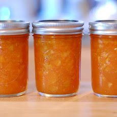 Carrot Orange Marmalade with Cinnamon and Golden Raisins