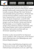 Screenshot of Armenian Music