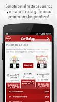 Screenshot of SevillaApp