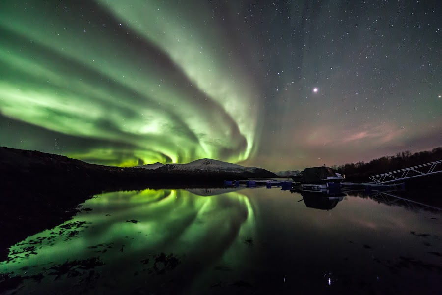 Auroraqueen by Benny Høynes - Landscapes Starscapes