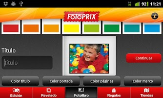 Screenshot of Fotoprix