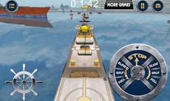 Screenshot of 3D Navy Simulation - Frigate