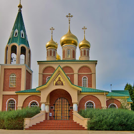 Exterior Architecture  by John Torcasio - Buildings & Architecture Other Exteriors ( orthodox church, russian, exteriors, architecture, john torcasio )