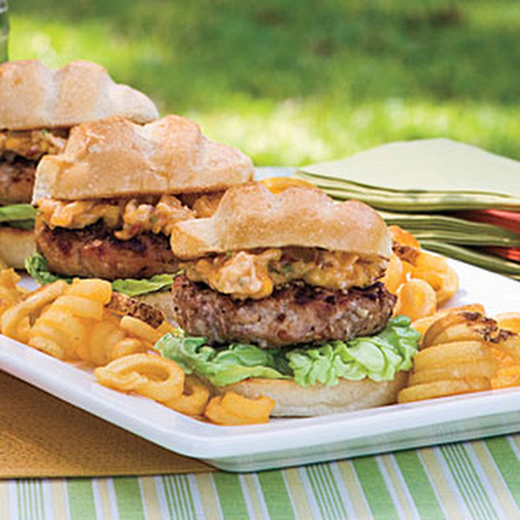 Pecan-Crusted Pork Burgers With Dried Apricot-Chipotle Mayonnaise ...
