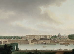 RIJKS: Josephus Augustus Knip: The View from the Batavian Embassy in Paris 1801