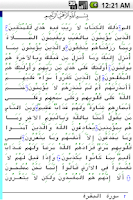 Screenshot of Pocket Quran
