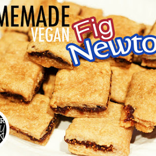 Homemade Vegan Fig Newtons