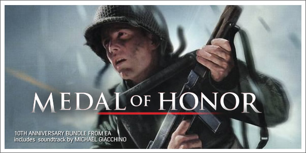 10th Anniversary of Medal of Honor to include soundtrack by Michael Giacchino