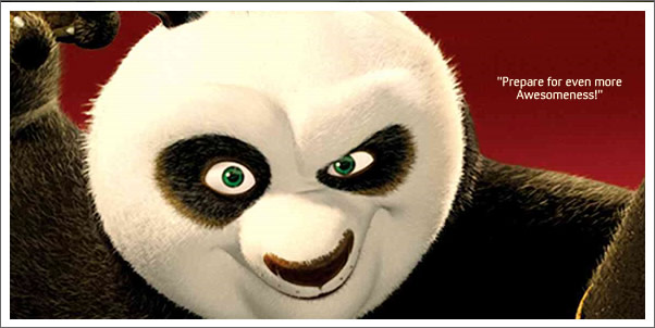 More Awesomeness and Bodaciousness!  Kung Fu Panda Sequel