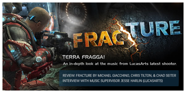 Terra Fragga!  The Music of Fracture (Video Game)