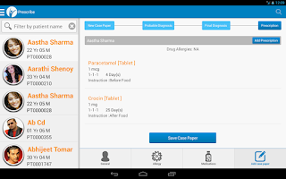 Screenshot of HealthyYou EHR