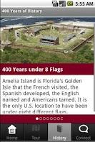 Screenshot of Amelia Island
