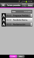 Screenshot of Agenda MNprogram
