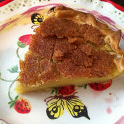 Rosewater Lime Transparent Pie
