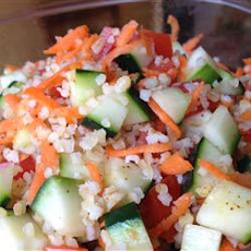 Colorful Bulgur Salad
