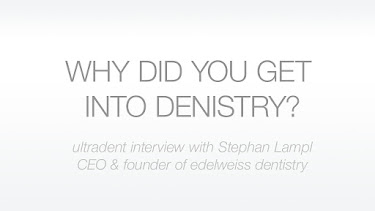 Why did you get into dentistry?