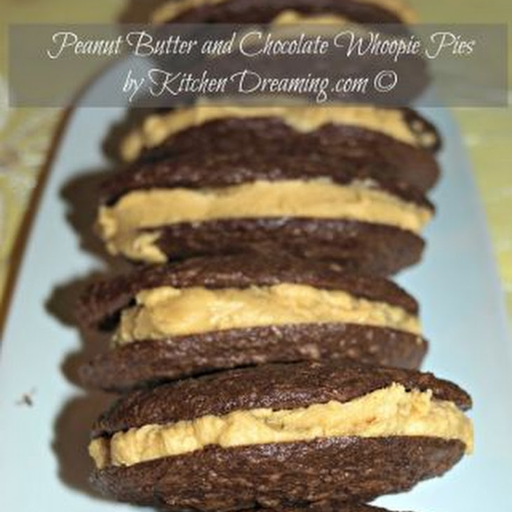 Peanut Butter Whoopie Pies Recipe | Yummly