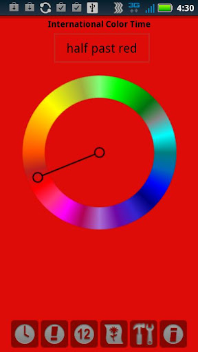 Color Time Clock
