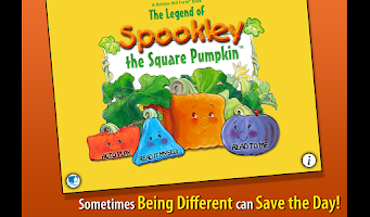 Screenshot of Spookley the Square Pumpkin