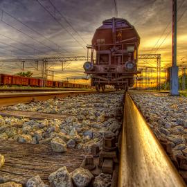 by Boris Frković - Transportation Railway Tracks