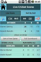Screenshot of Champions League T20 Live