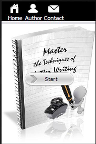 Master Letter Writing