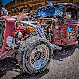 Rat Rod by Ron Meyers - Transportation Automobiles
