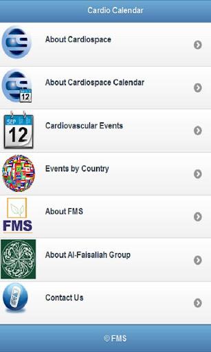Cardiospace Calendar