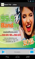 Screenshot of Rádio Band FM - Juína