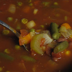 Chili Minestrone Soup (Crock Pot)