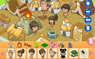 Screenshot of Design Tribal Village