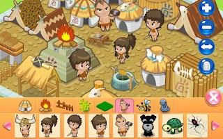 Screenshot of Design Tribal Village