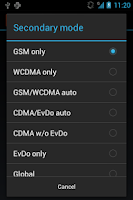 Screenshot of 2G Auto Toggle