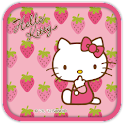 Hello Kitty Strawberry Theme icon