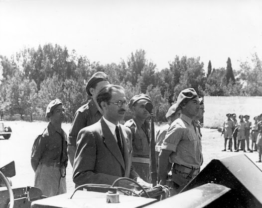 Appointed as commander of the Irgun –December1943