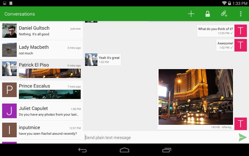 Conversations (Jabber / XMPP) Screenshot 8